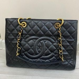 Chanel Shopper GST caviar
